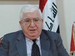 الرئيس معصوم يدعو لرفع الحظر الجوي على كردستان والبدء بحوار شامل