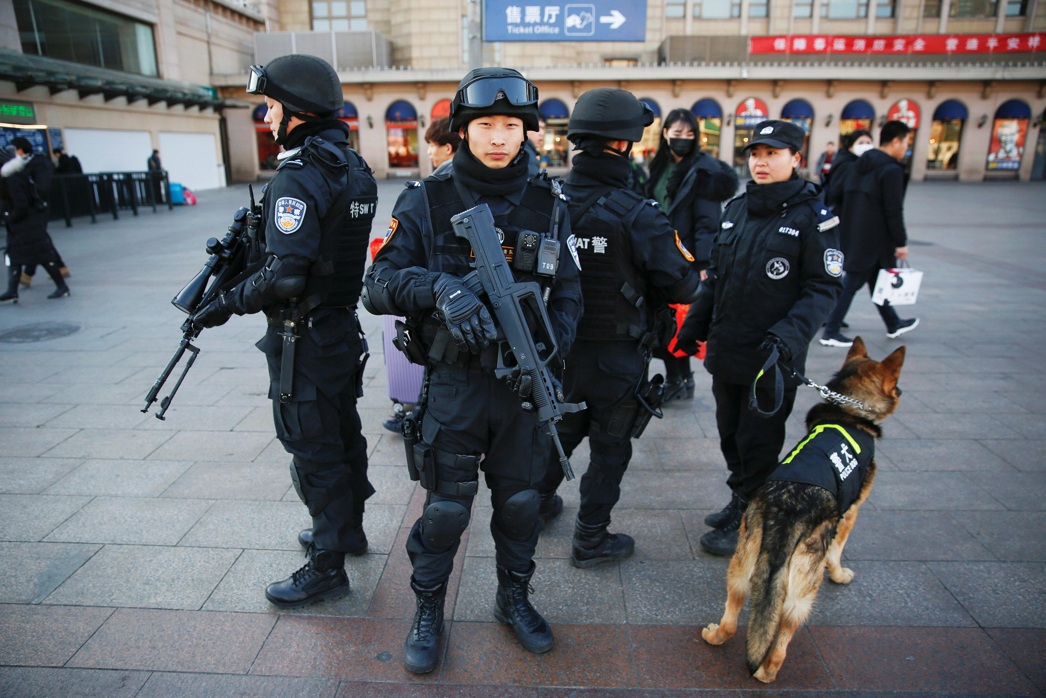 مايقارب عن 160 الف فاسد تحاكمهم الصين
