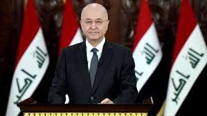 The President of the Republic condemns the American attack on the sites of the crowd and considers it a violation of Iraqi sovereignty Image