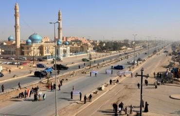الفلوجة النقطة الأقرب الي بغداد