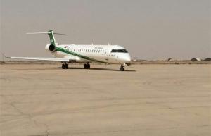 اقلاع ﺍﻭﻝ ﺭﺣﻠﺔ ﺟﻮﻳﺔ ﺩﻭﻟﻴﺔ ﺑﺎﺗﺠﺎﻩ ﺍﻟﻌﺎﺻﻤﺔ ﺍﻻﻳﺮﺍﻧﻴﺔ ﻃﻬﺮﺍﻥ من مطار الناصرية