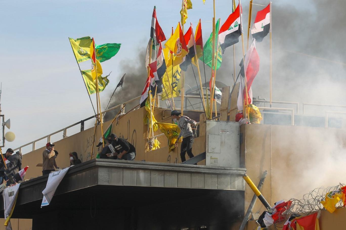 باقتحام السفارة .. طهران حاولت اعاقة التظاهرات الشعبية