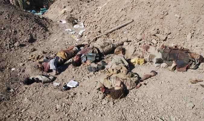 مقتل عدد من الداعش بينهم القائد الميداني لداعش الارهابي في ولاية نينوى