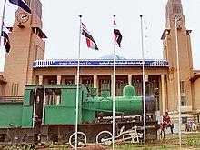 بالصور.. اقدم ساعة انكليزية تعاود دقاتها في سماء بغداد