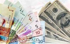 الدينار ينخفض امام الدولار في تعاملات البورصة المحلية