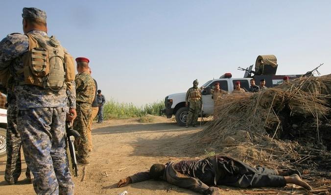 قوات الحشد نقنحم قرية العزيزية شرق تلعفر