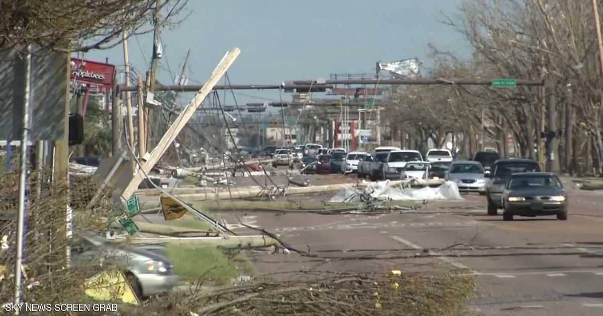 """حصيلة الإعصار الرهيب في فلوريدا """"مايكل"""""""