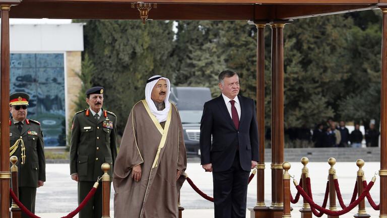 الديوان الملكي الأردني يعلن الحداد 40 يوما على أمير الكويت