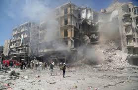 مقتل 10 أشخاص بينهم امرأة وطفل وسقوط عدد كبير من الجرحى في قصف طائرات حربية بريف ادلب