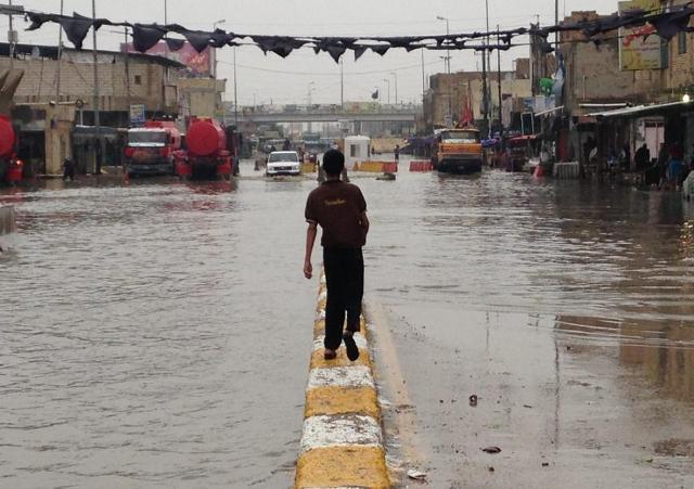 الاعلام الحكومي: الموارد المائية تعلن استعدادها لمواجهة موجة الامطار الغزيرة المتوقعة
