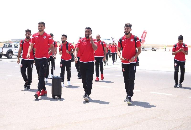 منتخب البحرين يصل اربيل للمشاركة في غرب آسيا