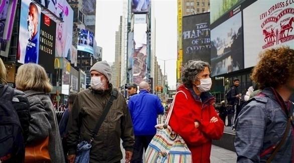 800 حالة وفاة بفيروس كورونا خلال 24 ساعة في اميركا