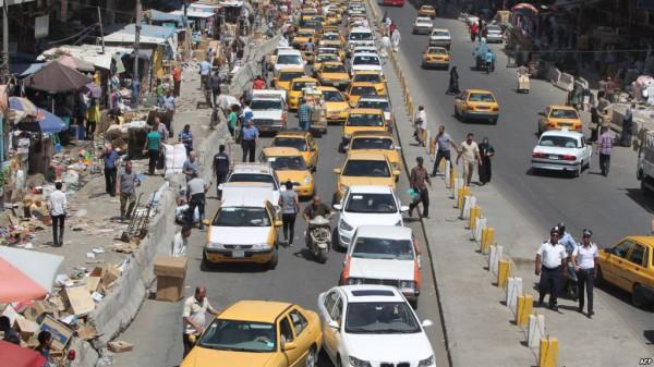 مرور بغداد تفتح شوارع مغلقة في ساحة الاندلس والكرادة  لتخفيف الزخم المروري