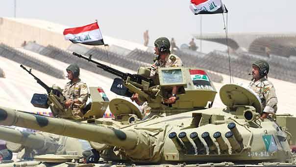 تحرير قرية كهريز ضمن القرى المحيطة بناحية النمرود ورفع العلم العراقي فيها