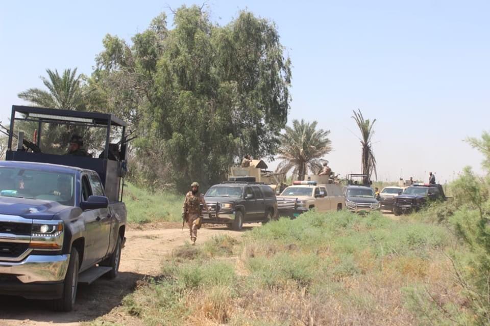 انطلاق عملية عسكرية لملاحقة بقايا داعش شرق سامراء
