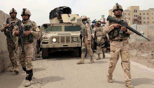 القوات الامنية تقتحم  مركز ناحية القيارة جنوب قضاء الموصل