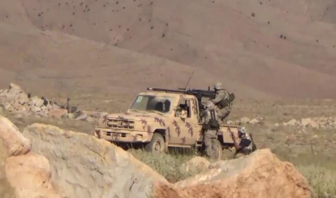 مقاتلي حزب الله يهاجمون مسلحين سنة قرب عرسال