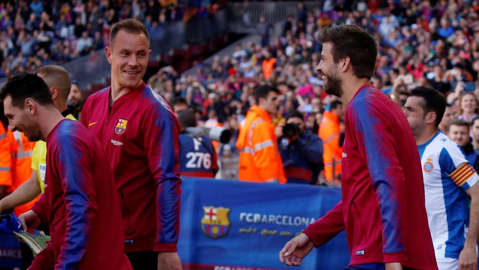تعطل مفاوضات تجديد عقد نجم برشلونة