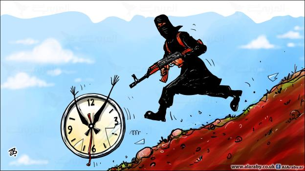 داعش تختطف الزمن من العراقيين