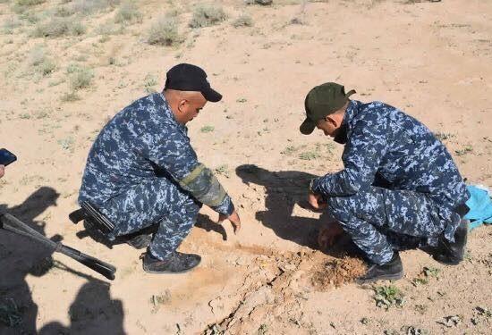 (بالصور) قوات الشرطة الاتحادية تطهر قرية في جزيرة سامراء بمحافظة صلاح الدين