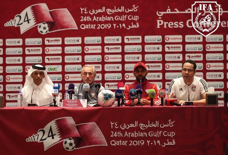 مدرب الامارات: سنلعب من اجل الفوز امام العراق