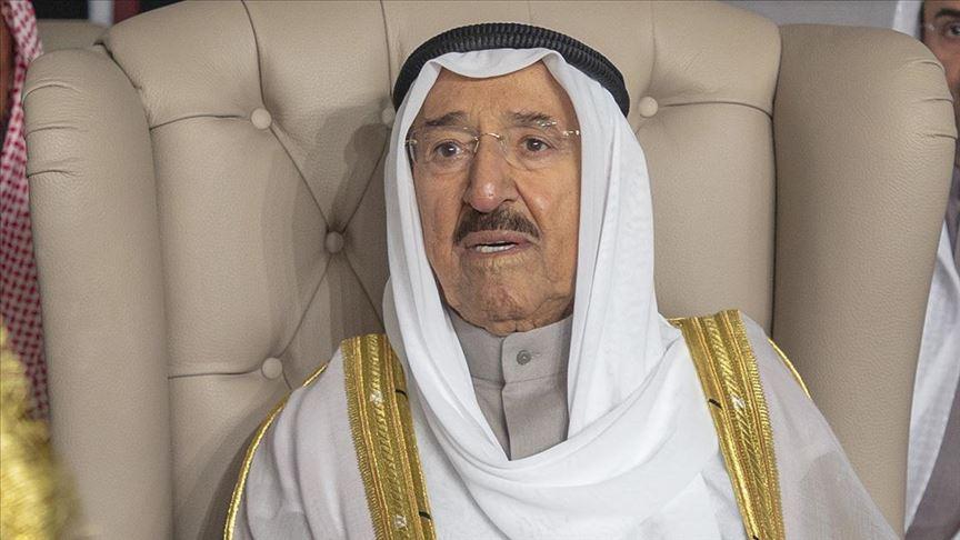 وفاة امير الكويت