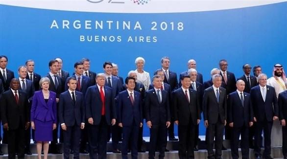 """الحرب التجارية تهدد وحدة زعماء """"مجموعة العشرين"""" خلال اجتماع اليابان"""