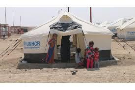 عودة المئات من الاسر النازحة من المخيمات الى مناطق سكناها غربي الرمادي