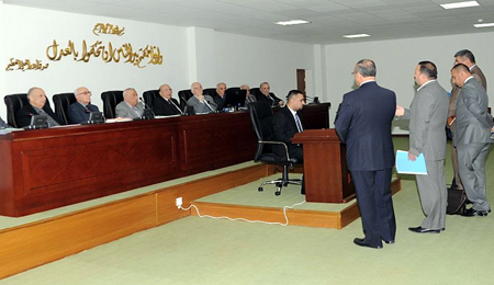 Federal Court proceedings are given the introduction of al-Maliki about the budget law