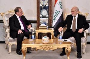 بوغدانوف يؤكد ضرورة الاسراع بعقد اجتماعات اللجنة العراقية-الروسية المشتركة