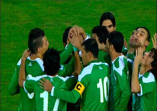المنتخب الوطني يبدأ مرانه في بغداد استعدادا لودية سوريا
