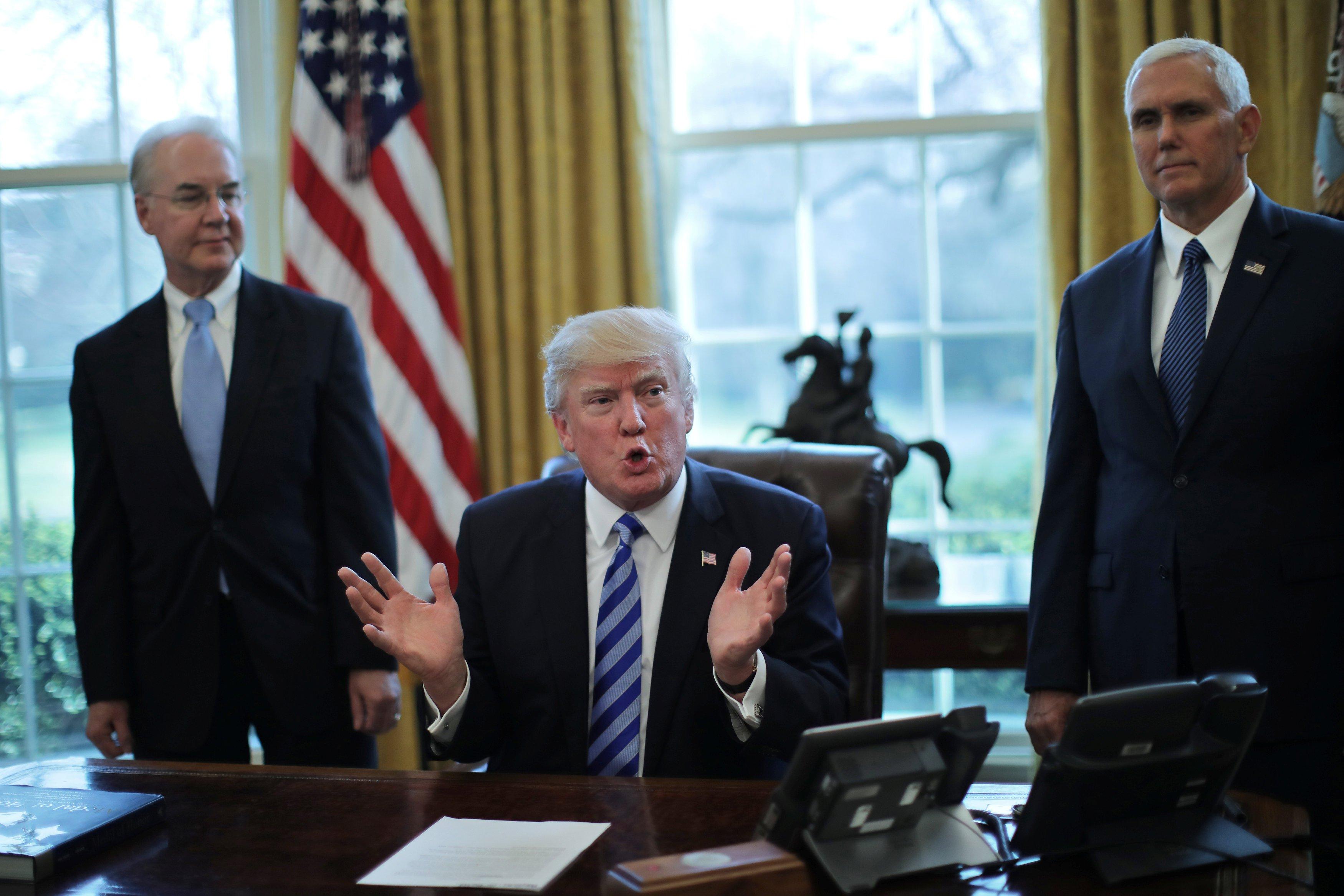 ترامب: أشعر بخيبة الأمل بسبب فشل مشروعى للنظام الصحى