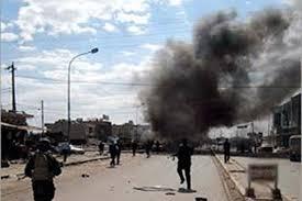 إصابة مدنيين اثنين بانفجار عبوة ناسفة شمالي بغداد