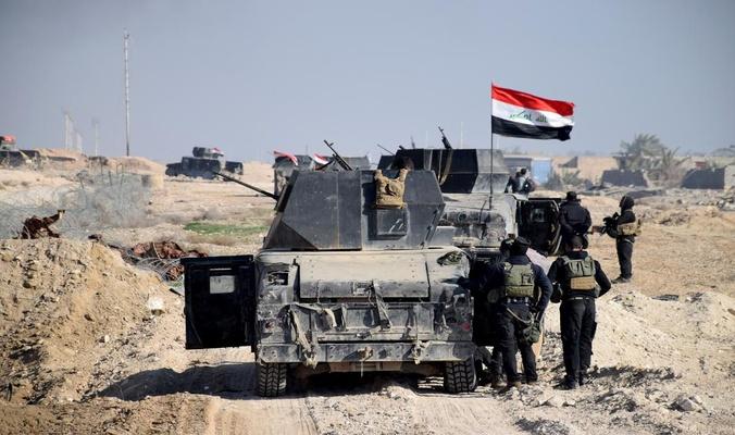 مكافحة الإرهاب تصل الى مشارف منطقة بزواية القريبة من مدينة الموصل لاقتحامها