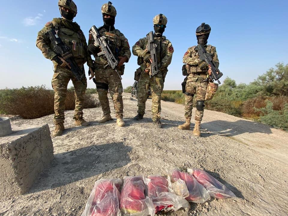 وكالة الاستخبارات :ضبط (٥) كغم كريستال مخدر بعملية بالتعاون مع الرد السريع في ميسان
