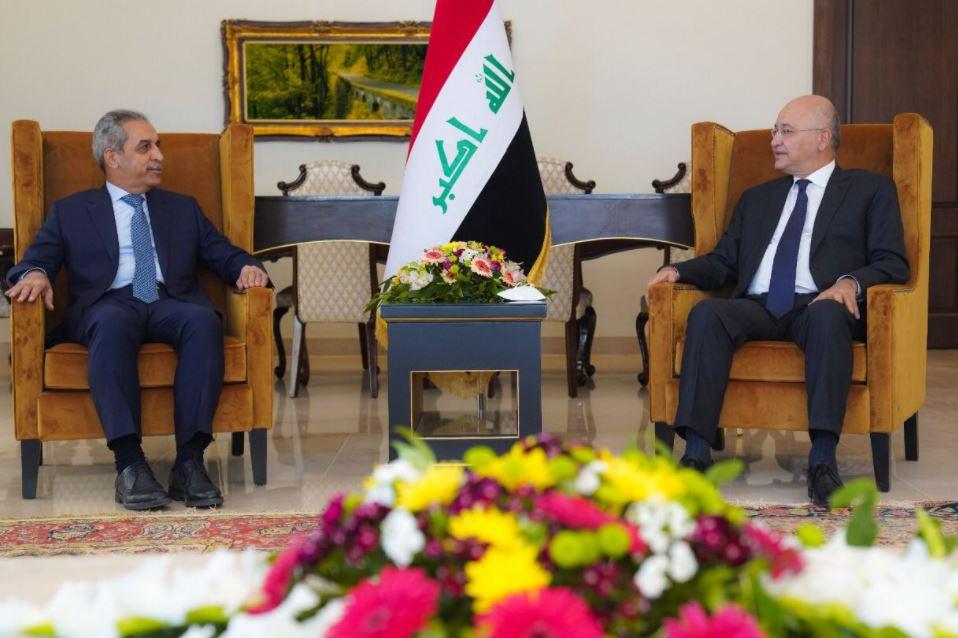 صالح يبحث مع رئيسي مجلس القضاء في بغداد والاقليم استقلالية القضاء وتنسيق أجهزته