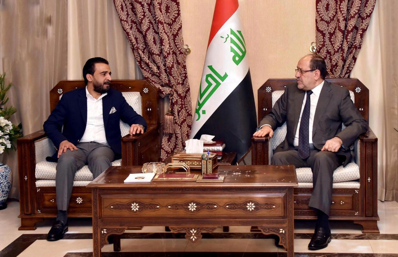 Al-Halbousi discusses with Maliki the latest developments in the security and political situation Image