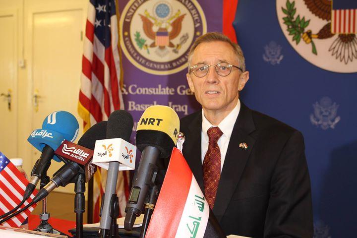 ديتون: خصصنا 685 مليون دولار لتطوير قوات البحرية العراقية