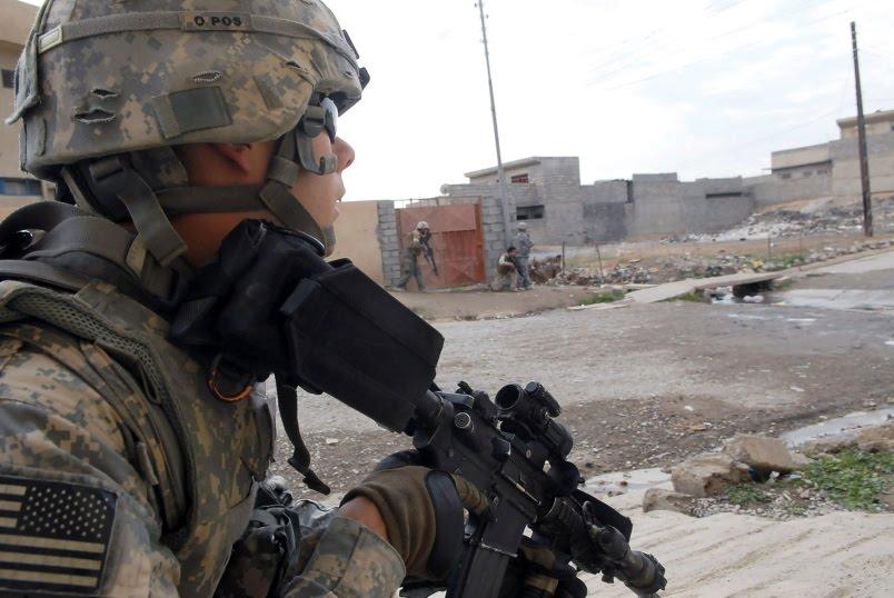 بالوثيقة ..  مرجع ديني يفتي بحرمة تواجد القوات الامريكية في العراق