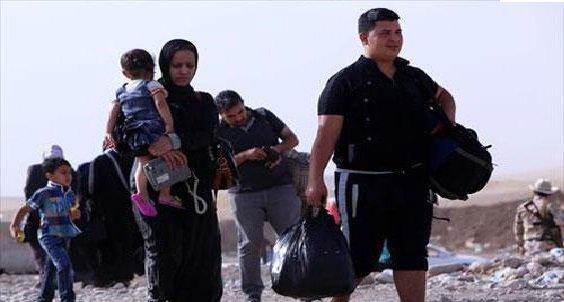 الهجرة تخصص 3 مليارات دينار لانشاء مخيمات ايواء لنازحي صلاح الدين