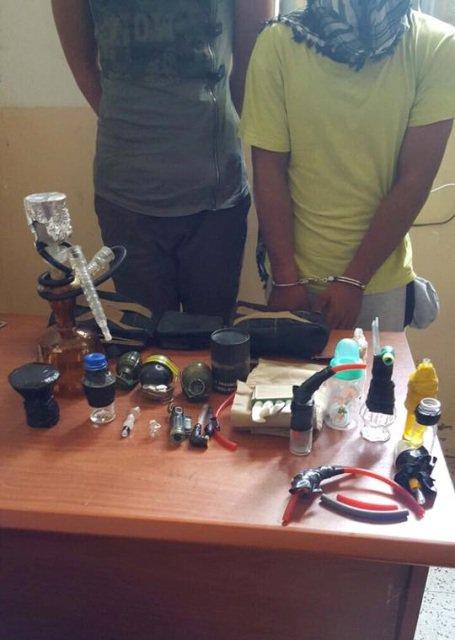 اعتقال شخصين بحوزتهما كميات من المخدرات في عملية امنية شرق ديالى