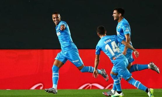 الغاء هدف ينقذ ريال مدريد أمام فالنسيا