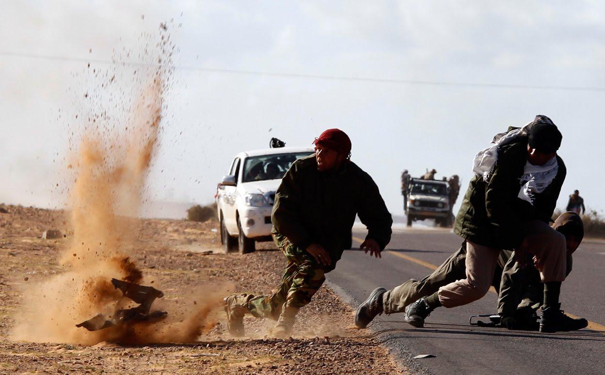 استشهاد 10 عناصر من القوات الأمنية بهجوم نفذه داعش الارهابي شرقي الرطبة