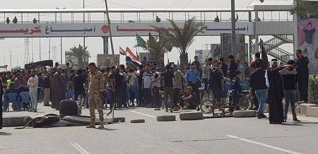 الحكومة تعلن انتهاء اعتصام اهالي الثعالبة وبوب الشام شمالي بغداد