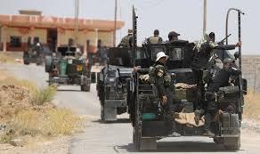 مكافحة الارهاب تحرر  منطقتي النعمانية والعطشانة في الساحل الايسر