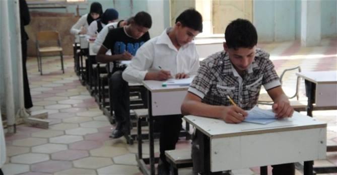 التربية تحدد مكان اقامة الامتحانات العامة للدراسة الاعدادية