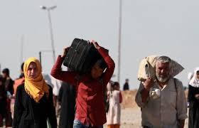 غراندي:  200 ألف شخص آخرين قد يفرون من الموصل مع اشتداد القتال