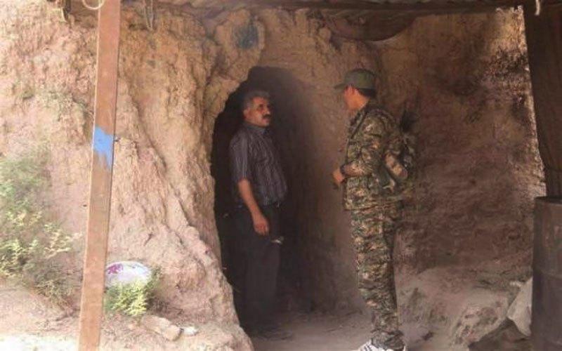 العثور على انفاق ومخبأ للعتاد في قرية درناج غرب الموصل