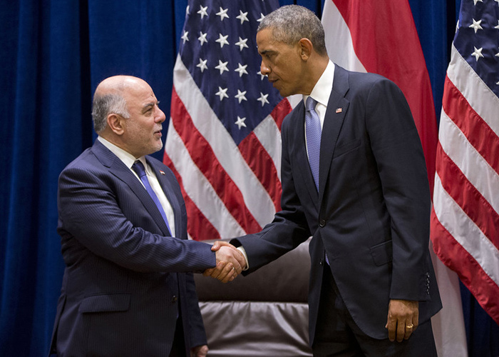 Iraqi official - Abadi will ask Washington and planes on credit sale Iraq Apache