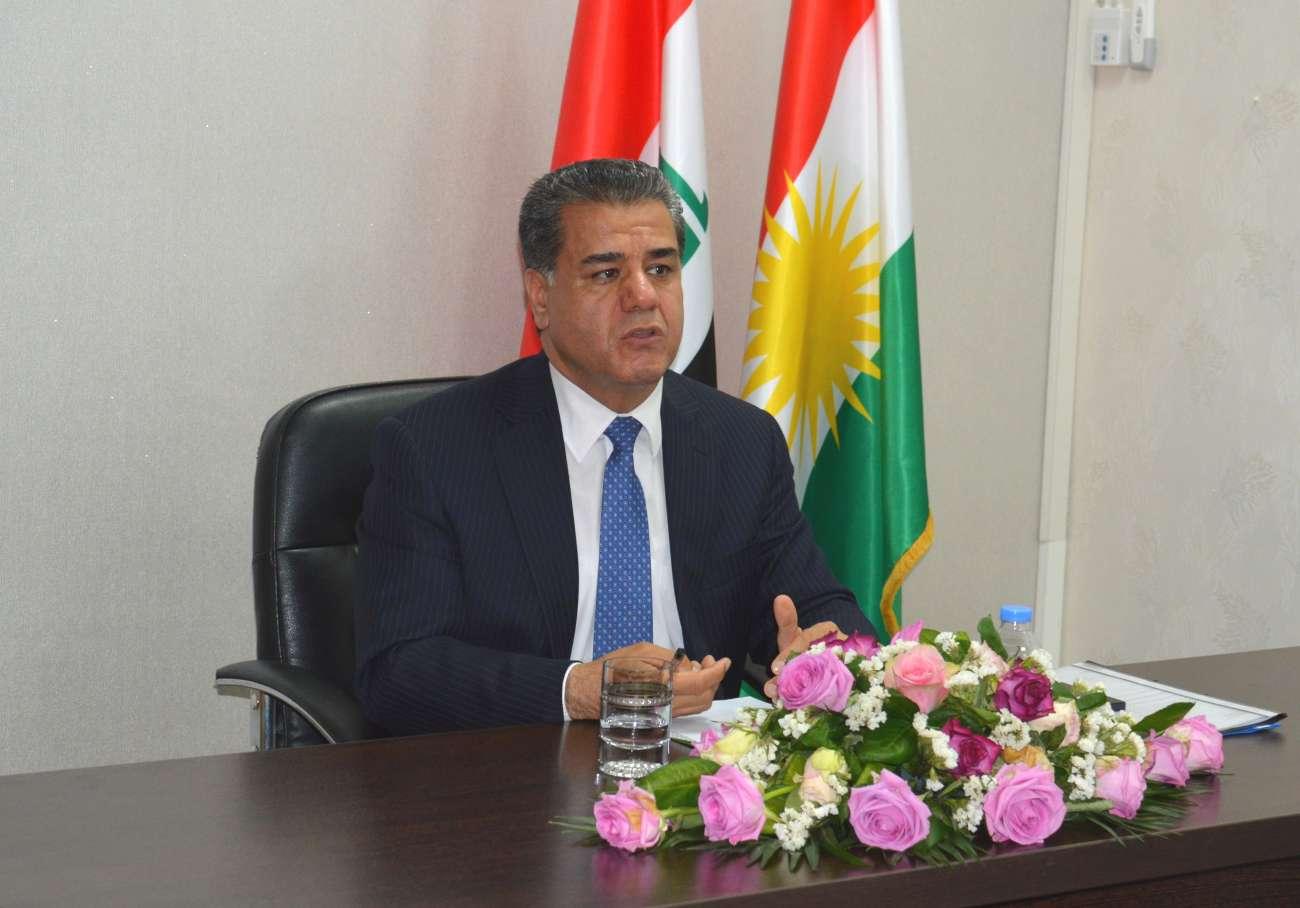 وزير كردي: تغيير الوضع الراهن في العراق سيمنع استقلال كردستان